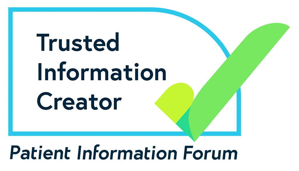 Patient Information Forum green tick logo